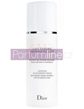 Christian Dior Gentle Cleansing Milk, Čistiace Mléko - 200ml, Suchá a citlivá pleť