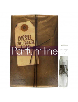 Diesel Fuel for life, Vzorek vůně