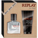 Replay for Him, Edt 30ml + 100ml sprchovy gel