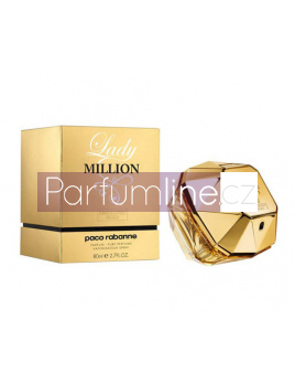 Paco Rabanne Lady Million Absolutely Gold, Parfém 80ml