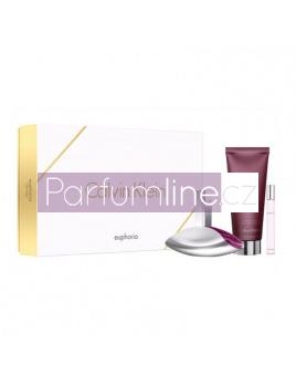 794eac508e Calvin Klein Euphoria SET  Parfémovaná voda 100ml + Tělové mléko 200ml +  Parfémovaná voda 10ml