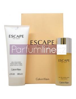 Calvin Klein Escape SET: Toaletní voda 100ml + Balzám po holení 200ml