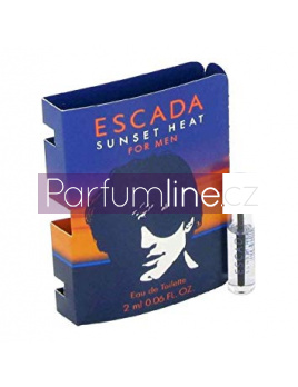 Escada Sunset Heat, Vzorek vůně