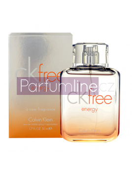 Calvin Klein CK Free Energy, Toaletní voda 50ml
