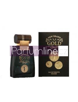 New Brand Gold , Toaletní voda 100ml (Alternatíva parfému Paco Rabanne 1 million)