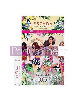 Escada Fiesta Carioca, Vzorek vůně