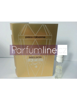 Paco Rabanne Lady Million eau My Gold, Vzorek vůně