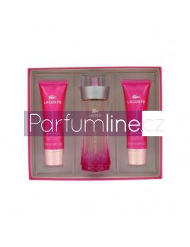 Lacoste Touch of Pink, Edt 50ml + 50ml tělové mléko + 50ml Sprchový gél