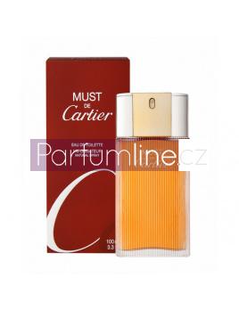 Cartier Must, Toaletní voda 100ml - tester