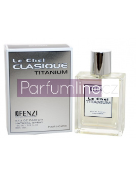JFenzi Le'chel Clasique, Parfémovaná voda 50ml - Tester (Alternatíva vône Chanel Egoiste Platinum)
