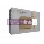 Michael Kors Sexy Amber SET: Parfumovaná voda 100ml + Makeup kozmetická taška