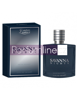 Lamis Creation Savanna Nights, Toaletna voda 100 (Alternativa parfemu Christian Dior Sauvage)