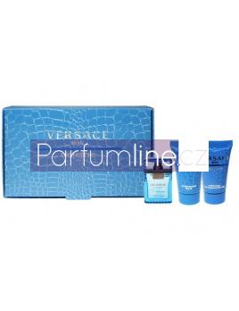 Versace Man Eau Fraiche, Edt 5ml + 25ml Sprchový gél + 25ml balsam po holení