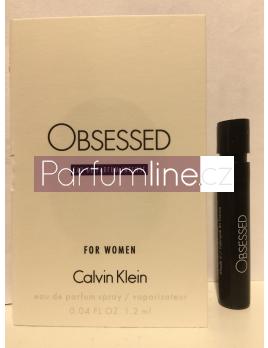 Calvin Klein Obsessed Intense, Vzorek vůně