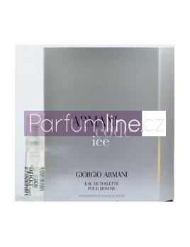 Giorgio Armani Code Ice, Vzorek vůně