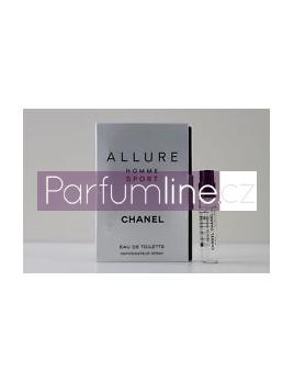 Chanel Allure Homme Sport, Vzorek vůně