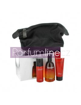Christian Dior Fahrenheit, Edt 100ml + 50ml deodorant + 75ml Sprchový gél + kosmetická taška