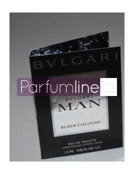 Bvlgari Man Black Cologne, Vzorka vone