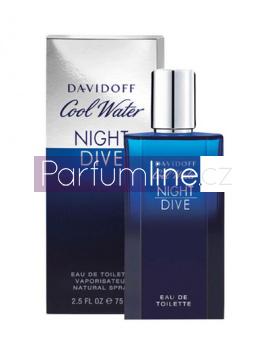 Davidoff Cool Water Night Dive, Toaletní voda 125ml