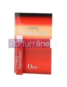 Christian Dior Aqua Fahrenheit, Vzorek vůně