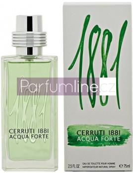 Nino Cerruti 1881 Acqua Forte , Toaletní voda 75ml