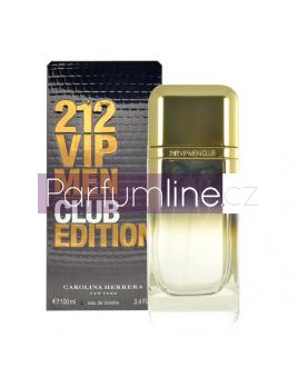 Carolina Herrera 212 VIP Men Club Edition, Vzorek vůně