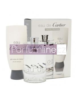 Cartier Eau De Cartier, Edt 100ml+ 100ml Sprchový gél