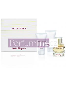 Salvatore Ferragamo Attimo, Parfémovaná voda 50ml + Telove Mléko 50ml + Sprchovy gel 50ml