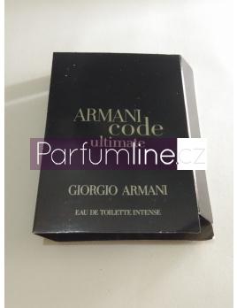Giorgio Armani Code Ultimate, Vzorek vůně - Intense