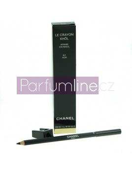 Chanel Le Crayon Khol Tužka na oči odtieň 61 Noir (Intense Eye Pencil) 1,4 g