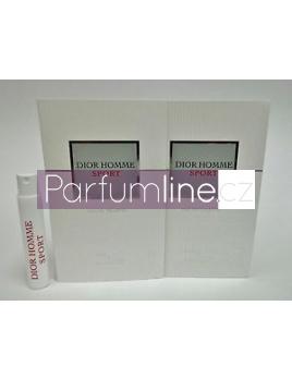 Christian Dior Homme Sport, vzorka vone