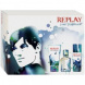Replay your fragrance! for Him, Edt 30ml + 50ml sprchovy gel + 50ml deodorant
