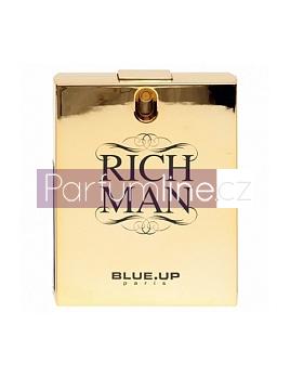 Blue up Paris Rich Man for men, Toaletní voda 100ml (Alternatíva parfému Paco Rabanne 1 million) - Zlata edicia