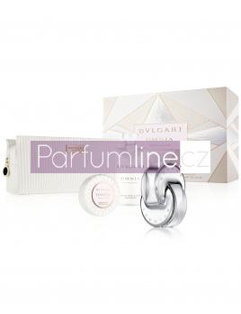 Bvlgari Omnia Crystalline, Edt 65ml + 75ml tělové mléko + 75g Mýdlo + kosmetická taška