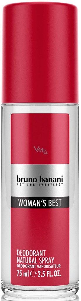 Bruno Banani Womans Best Deodorant sklo 75 ml