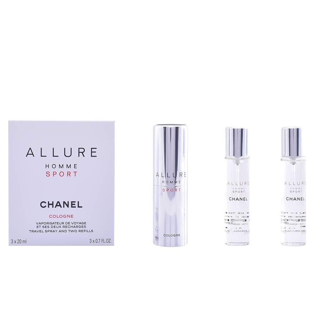 Chanel Allure Sport Cologne, Toaletna voda 3x20ml - Twist and Spray