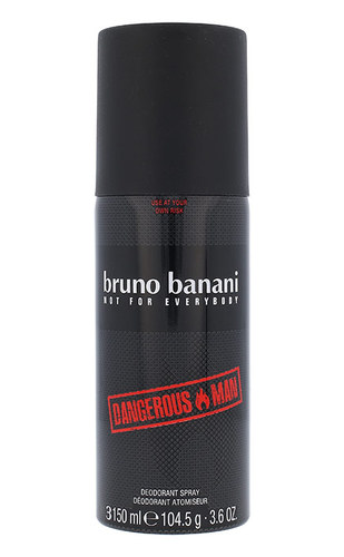 Bruno Banani Dangerous Man, Deodorant 150ml
