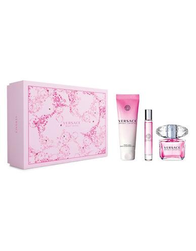 Versace Bright Crystal SET: Toaletní voda 90ml + Toaletní voda 10ml + Sprchovací gél 150ml