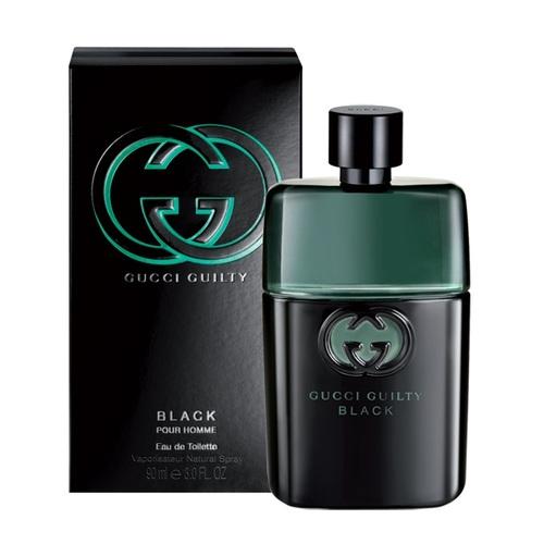 Gucci Guilty Black Pour Homme, Vzorek vůně