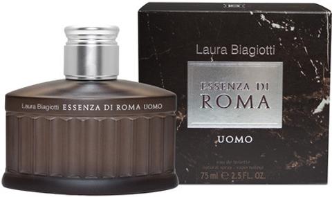 Laura Biagiotti Essenza di Roma Uomo, Toaletní voda 125ml - tester + dárek zdarma pro věrné zákazníky