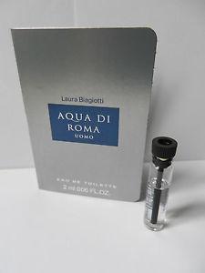 Laura Biagiotti Aqua di Roma, Vzorek vůně + dárek zdarma pro věrné zákazníky