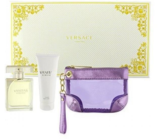 Versace Vanitas, Edt 100ml + 100ml tělové mléko + kosmetická taška