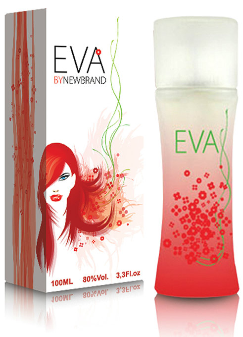 New Brand Eva, Parfémovaná voda 100ml (Alternativa parfemu Kenzo Flower by Kenzo)
