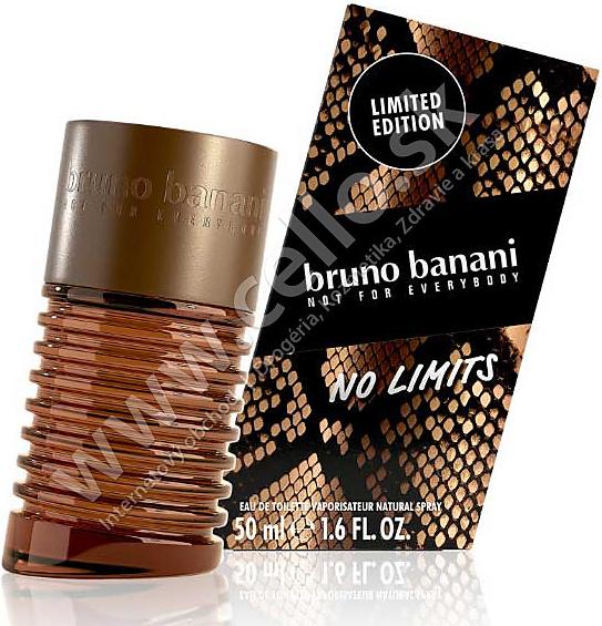 Bruno Banani No Limits For Men Toaletní voda 50 ml - tester