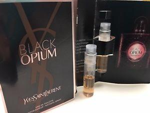 Yves Saint Laurent Opium Black, Vzorek vůně EDT