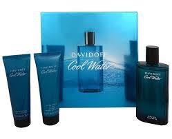 Davidoff Cool Water SET: Toaletní voda 125ml + Spchovací gel 75ml +Balzám po holení 75ml